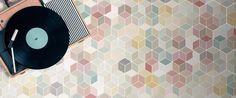 Image result for hexagonal tiles