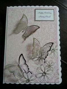 Kanban butterflies card