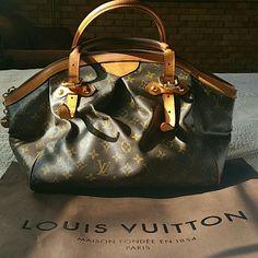 Authentic Louis Vuitton Tivoli Gm Purse