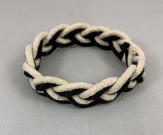 Sailor Knot Bracelet, Handmade Bracelets, Handmade Gifts, Boho Boutique, Sailors, Trending Outfits, Unique Jewelry, Black And White, Retro
