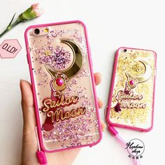 Bling Glitter Sailor Moon Magic Wand Soft Bumper Case For iPhone 7 7Plus 6 6s #UnbrandedGeneric