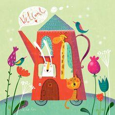 Просмотреть иллюстрацию Велком из сообщества русскоязычных художников автора Sasha Kru в стилях: Другое, нарисованная техниками: Компьютерная графика.