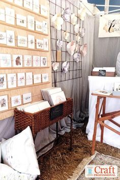 Display Stands for Art Shows Craft Booth Displays, Display Ideas, Booth Ideas, Craft Booths, Southern Living, Art And Craft Shows, Art Shows, Shop Display Stands, Craft Stalls