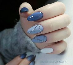 Exquisite Pastel Color Nails To Freshen Up Your Look: Light Blue Nails Designs . - Exquisite Pastel Color Nails To Freshen Up Your Look: Light Blue Nails Designs - Light Blue Nail Designs, Light Blue Nails, Light Colored Nails, Trendy Nails, Cute Nails, My Nails, Prom Nails, Pastel Color Nails, Nail Colors