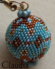 Alle meine Perlen: Häkelkugel