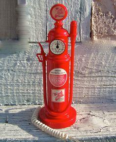 Gas Pump Novelty Phone by cynthiasattic on Etsy, $39.00