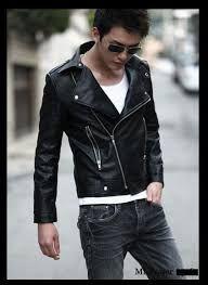 Chaquetas de cuero para hombre  moda  hombre  chaqueta  cuero  leather   008a98e5d84