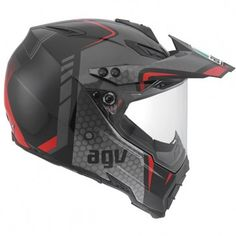 The AGV AX-8 Dual Evo has the best of both worlds being able to use the helmet as both an on and off road purpose. The AX8 has a removable Peak and visor, which allows you to wear this helmet in many configurations.