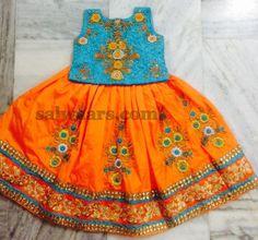 Heavy Thread work Rich Lehenga - Indian Dresses