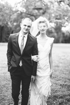 The day I married the love of my life. Classic wedding / Short hair bride / Bethany Jeffery Photography / The Dolans / Tyler, Tx / June 2013