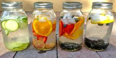 Refreshing Healthy Fruit Infused Flavoured Water!