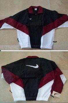 ea3ec558977ce Looking for this Nike Windbreaker before fall!, 90s Windbreaker Jacket,  White Windbreaker,