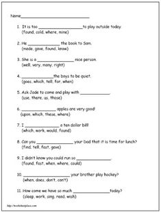 Printables Printable 2nd Grade Reading Worksheets words reading worksheets and sight word on pinterest second grade worksheet 4 dolch