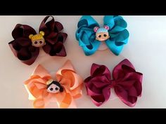 Laço Boutique Duplo Boneca Lol Surprise 🎀🌸 - YouTube Lol, Hair Bows, Videos, Youtube, Hooks, Doll, Gift, Animals, Appliques