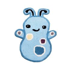 Cocalo Peek a Boo Monsters Inc Boy's Nursery Room Rug Mat Blue Cute Alien Blue #CoCaLo