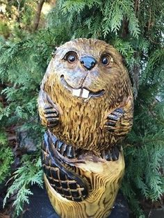 Picture 2 of 11 Dremel Wood Carving, Carving Tools, Chainsaw Carvings, Wood Carvings, Custom Woodworking, Woodworking Plans, Carving Board, Wood Art, Sculpture Art