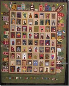 house quilt.