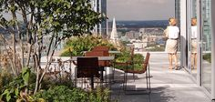 Townshend Landscape Architects - Projects - Bevis Marks Roof Terrace