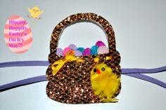 DETTE CAKES: Easter Basket & Chick Headband