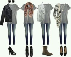 How to dress up a T! #accessories