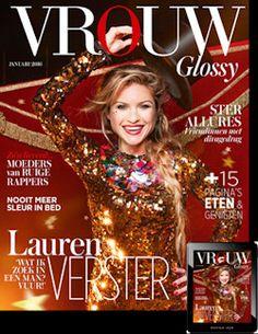 6x VROUW Glossy € 20,-: VROUW Glossy is het tweemaandelijks verschijnende luxe glossy vrouwenmagazine met actualiteiten, interviews, reportages en entertainment. Neem nu een jaarabonnement met korting!