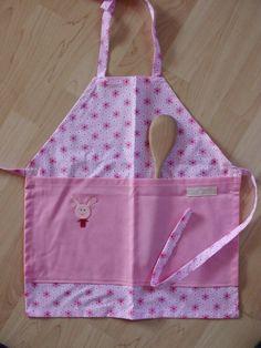 """Schürzen - Kinderschürze """"Pancake"""" für ca 3-4jäh... - ein Designerstück von Die-Nadeltante bei DaWanda"""