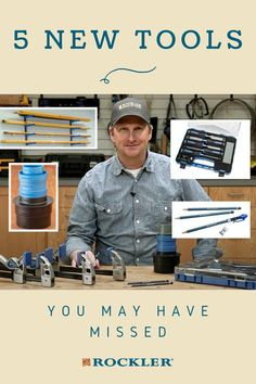 In this Rockler demonstration we'll show you five new tools that you might have missed. Watch the demo here! #CreateWithConfidence #NewTools #Missed #RocklerInnovations #NewProducts Rockler Woodworking, Woodworking Hand Tools, Beginner Woodworking Projects, Woodworking Videos, Woodworking Shop, Lumber Rack, Lumber Storage, Chisel Set, Wood Working For Beginners