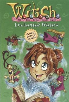 """""""Enchanted Waters"""" by Alice Alfonsi - When Irma meets a peculiar old man at her father's office, she doesn't know what to do. He can predict the future and talks about magical sea creatures. He seems to know all of her secrets-and all the secrets of W.I.T.C.H. Is he some sort of magical creature? He says he knows how to help the Guardians, but when he is kidnapped, it's the Guardians who must come to the rescue. (Book Twenty-Five of the W.I.T.C.H. series)"""