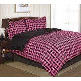 Found it at Wayfair - Houndstooth Comforter Set
