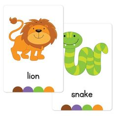 Zoo Flash Cards