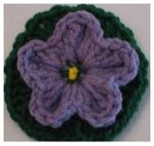 crochet balloon flower tutorial