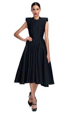 Square Shoulder Sleeveless Dress