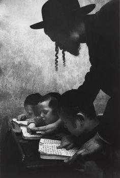Cornell Capa. Hebrew School. 1955