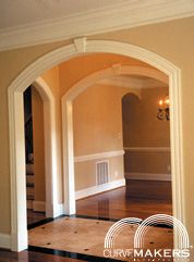 Glossary / All About Arches - CurveMakers Patented Arch Kits, Wood Arches, D-I-Y Arched Doorways and Openings, Interior Archways, DIY Arches, Curved Moulding and Trim