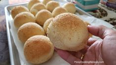 PANDESAL RECIPE INGREDIENTS: 3 cups all purpose flour or more 4 tbsp sugar 1 tsp salt 1 pouch or 2 tsp rapid rise yeast 1 egg, beaten, room temperature 1 cup evaporated milk 3 tbsp unsalted butter, softened. Jelly Recipes, Baking Recipes, Dessert Recipes, Bread Recipes, Pandecoco Recipe, Pinoy Recipe, Soft Pandesal Recipe, Filipino Recipes, Filipino Food