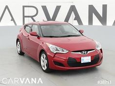 2013 Hyundai Veloster Veloster Base RED 2013 VELOSTER with 23573 Miles for sale at Carvana