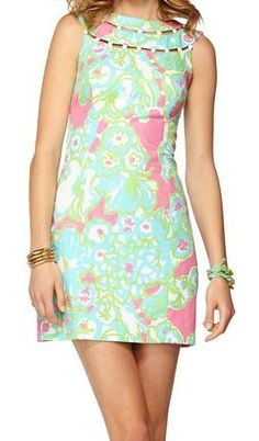 Lilly Pulitzer Lindy Beaded Shift Dress. Just added this to my collection!