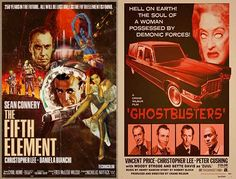 the fifth element + ghostbusters.