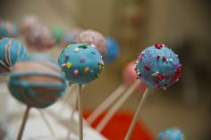 My first Cake Pops :)