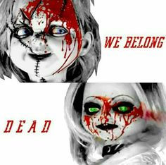 @norest4thewickd | queen muñoz All Horror Movies, Horror Movie Characters, Scary Movies, Awesome Movies, Arte Horror, Horror Art, Chucky And His Bride, Chucky Movies, Childs Play Chucky