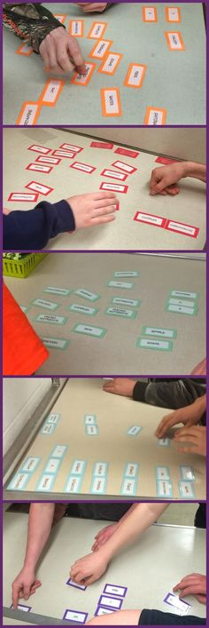 FACS Classroom Ideas: Nutrition Word Sorts!