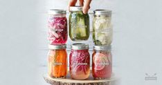 Looking for a healthy, easy snack? Quick pickle your favorite veggies in just 24 hours for gut-boosting, tangy treats at your fingertips!