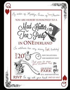 Jens Place Mad Hatters Tea Party Creative Pinterest Mad