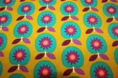 Sweat-shirt-tissu-pomme-sur-MOUTARDE-A-MOTIFS-50-x-1-50