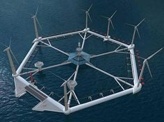 Malta: A proposed Floating Wind Farm? A Floating Wind Farm Malta, Offshore Wind Turbines, Offshore Wind Farms, Gnu Linux, Geothermal Energy, Farm Projects, Energy Storage, Sustainable Energy, Wind Power