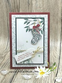 Inspire.Create.Challenge Christmas Card Crafts, Homemade Christmas Cards, Stampin Up Christmas, Christmas In July, All Things Christmas, Handmade Christmas, 21 Cards, Xmas Cards, Holiday Cards