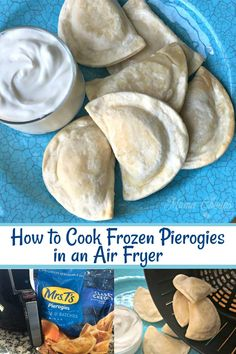 Frozen Pierogies in Air Fryer Cook frozen pierogies to absolute perfection in the air fryer! – Frozen Pierogies in Air Fryer Cook frozen pierogies to absolute perfection in the air fryer! Air Fryer Recipes Wings, Air Fryer Recipes Snacks, Air Fryer Recipes Low Carb, Air Frier Recipes, Air Fryer Dinner Recipes, Recipes Dinner, Frozen Pierogies, Cooks Air Fryer, Air Fryer Review