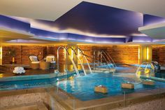 The water circuit in the spa at Secrets Vallarta Bay is truly relaxing. Perfect for a couples spa day! #UnlimitedRomance