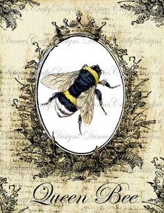 Queen Bee printable