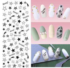 Water Transfer Nails Art Sticker Wraps – PriceSolution4U™